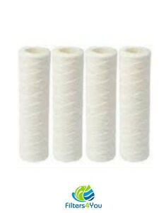 4-Pack-of-5-Micron-Wound-String-Sediment-Water-Filter-Cartridges-10-034-x2-5-034-for-RO
