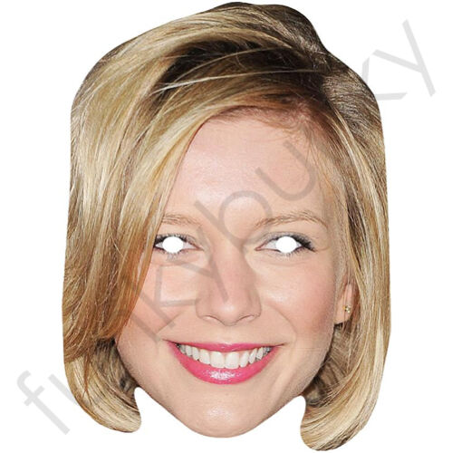 Rachel Riley Countdown Celebrity Card Face Mask All Our Masks Are Pre-Cut!***