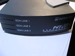 Inter-Tel-NT384-Triple-ISDN-Basic-Rate-Network-Termination-Modem-USED