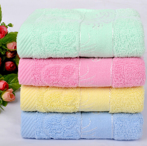 Luxury Soft Towels Bathroom Beach Wash Cotton Towel Washcloth Face Fitness