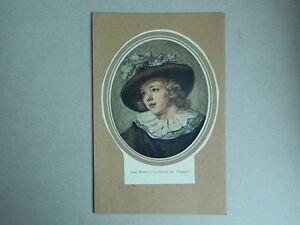 """Ritratto Ovale Di Fragonard """" Giovane Uomo Alla Collare """""""