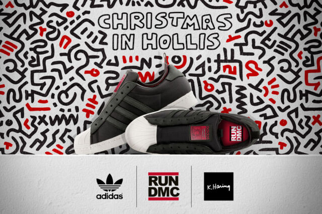 adidas superstar run dmc keith haring