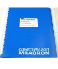 CINCINNATI GRINDING MACHINES INSTRUCTION MANUAL & PARTS (W-4-BOX 9-11-RCT)