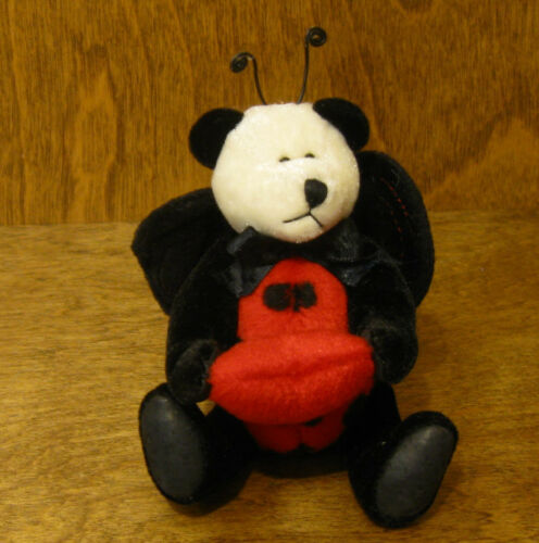 "Boyds Plush Ornaments #595104 LADY B. LOVEBUG, 5"" NEWTag From Retail Store"