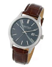 32e558efb59 Caravelle New York Men s 43B132 Analog Display Japanese Quartz Brown Watch