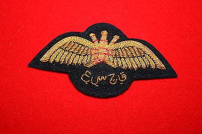 EXCELLENT COPY WW2 DUTCH NETHERLANDS AIR FORCE PILOT/'S WING BULLION WIRE