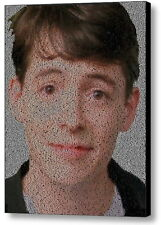 Ferris Bueller's Day Off Quotes WOW Mosaic Framed 9X11 Limited Edition Art w/COA
