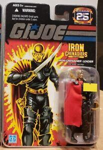 "G.I. Joe 25th Anniversary: Iron Grenadier Leader - Destro 3.75"" Figure"