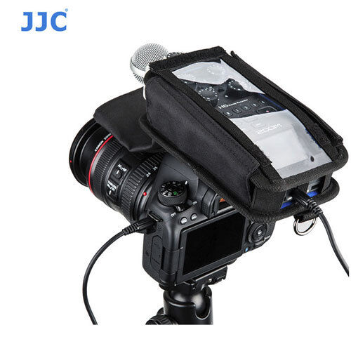 Jjc Handy Recorder Protective Pouch Bag Case For Zoom H6 Replace