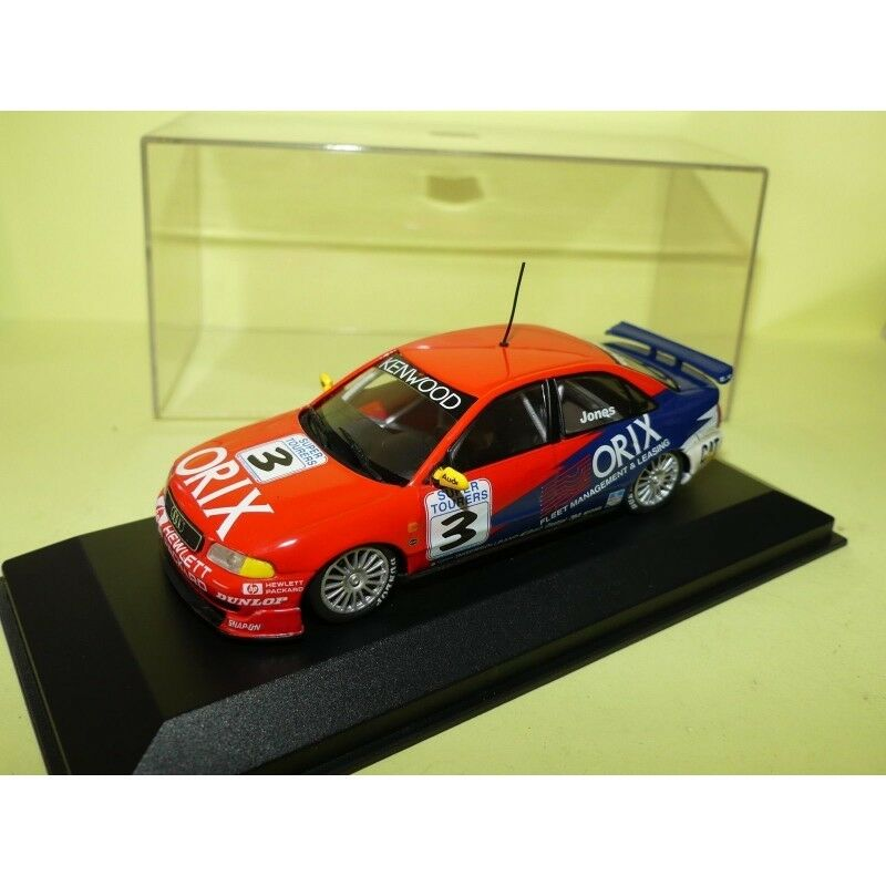 AUDI A4 QUATTRO N°1 AUSTRALIEN GRAND PRIX SUPPORT 1997 JONES MINICHAMPS 1 43