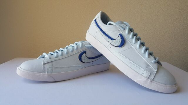 reputable site b6c49 d8988 Nike Blazer Low 3d Size 11 Shoes Mens Blue White SNEAKERS