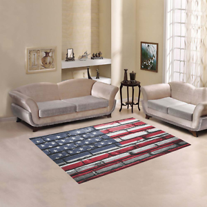 Image Is Loading Retro American Flag Patriotic Stars And Stripes Area