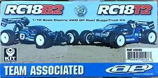 TEAM ASSOCIATED RC18T2 OU B2 en kit AS20103 a monter
