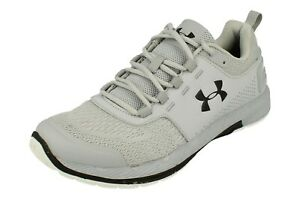 NEW Under Armour Commit TR EX 3020789-109 Grey Training Shoes Men/'s SIZE 8 8.5