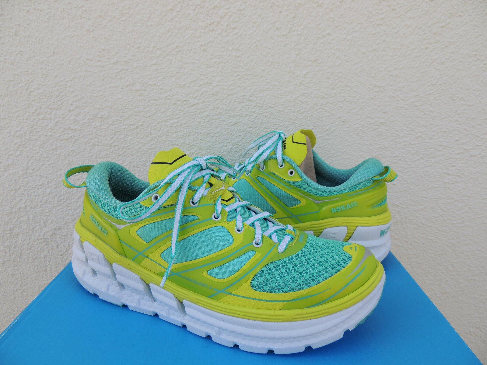 HOKA ONE ONE CONQUEST 2 ACID  WATERFALL RUNNING scarpe, US 10.5  EUR 43 1 3  NEW