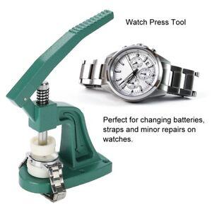 Watch-Back-Case-Presse-naeher-Uhrmacher-Kristallglas-Montage-Reparatur-Werkzeug-NEU