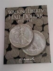 Harris Dollar Folder Coin Storage Album Display Book All Types of Silver H.E