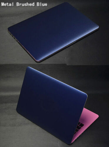 Laptop Metal Brushed Skin Sticker Guard Protector For ASUS X205TA X205 X205T