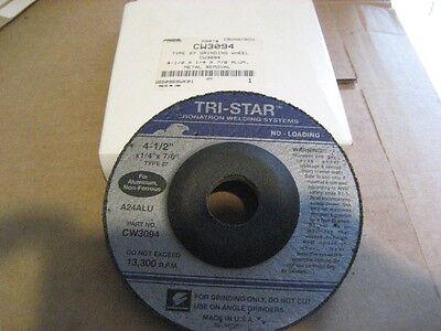 D2518-12 CRONATRON CW3094 4-1//2X1//4X7//8 GRINDING DISC