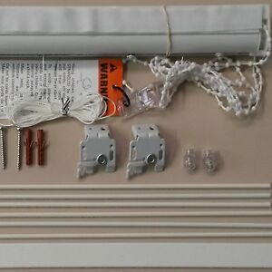 Roman Blind Deluxe Track Kits With Side Control Chain