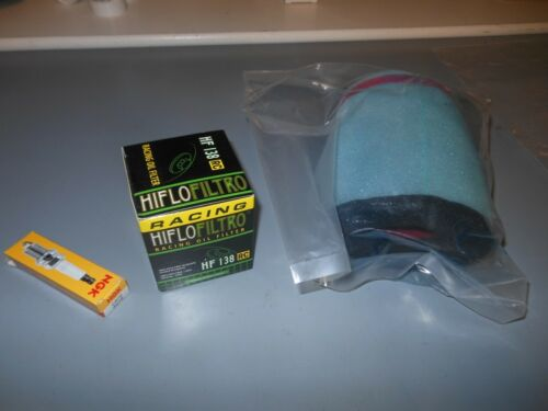 Suzuki Eiger 400 LT-A400 LT-F400 LT Tune Up NGK Spark Plug Oil Air Filter