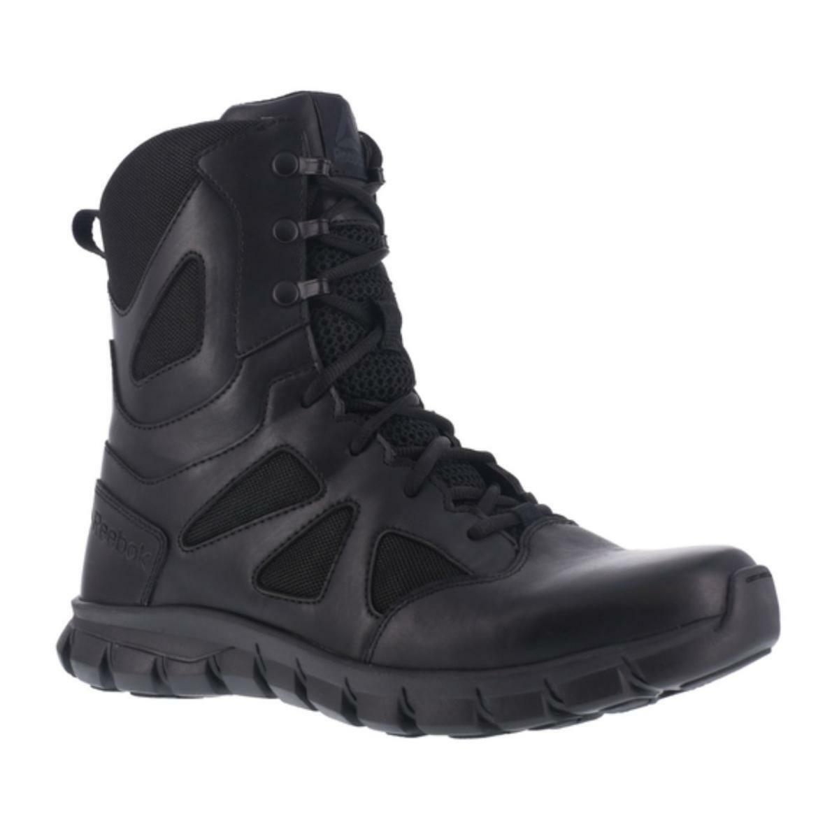 Reebok Para Hombre botas Negras homónima Cojín táctica 8  - RB8805