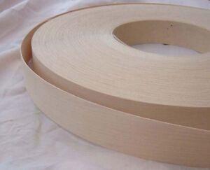 maple iron on edging pre glued real wood veneer tape 18mm. Black Bedroom Furniture Sets. Home Design Ideas