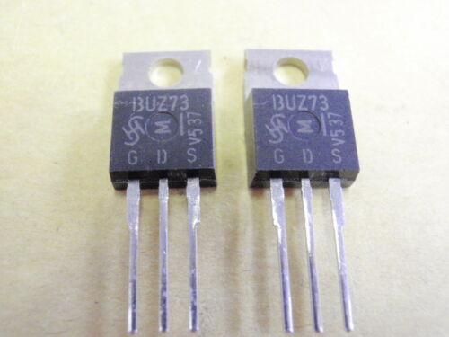 TRANSISTOR BUZ73 MOS N-FET 200V 7A 40W   2x   18047-133
