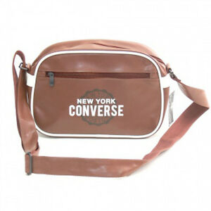 41995bf3df75 Image is loading Converse-Small-Reporter-Bag-Brown
