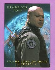 Stargate SG1 Season 7 In The Line Of Duty Tealc Chase Card T1