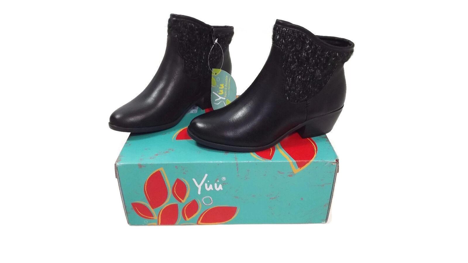ti aspetto YUU YUU YUU donna nero Light & Flexible Ankle stivali scarpe Dimensione 5.5 WD Memory Foam  100  risparmia il 60% di sconto e la spedizione veloce in tutto il mondo