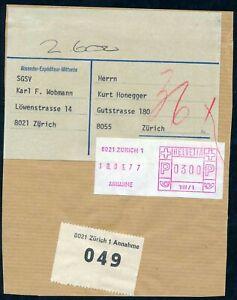 : Sfs 3/sbk 3 Gerät In Zürich Postautomation Ch sfs/paketmarken
