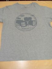 Official OPTIMUS ALIVE 2011 Tour T Shirt Grey Size L Foo Fighters Cold Play TSTM