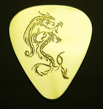 DRAGON - Solid Brass Guitar Pick, Acoustic, Electric, Bass