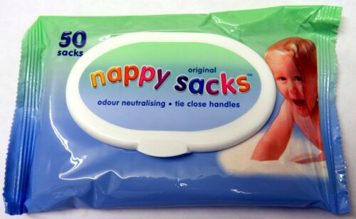 Original Nappy Sacks 50