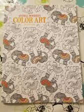 Adult Coloring Book Animal Wonders COLOR ART For Everyone Therapy C7