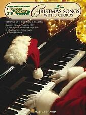 Christmas Songs with 3 Chords EZ Play Today 219 (2001, Paperback)