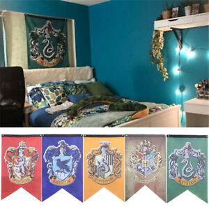 Bandera-Bandera-De-Casa-Colgante-De-Pared-Decoracion-Hogar-para-Harry-Potter-Gryffindor-75x125cm