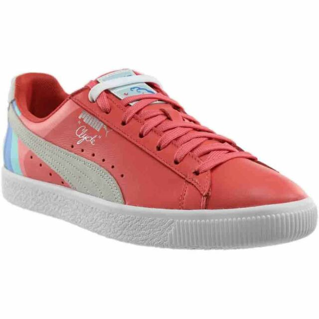 premium selection cd67c 8696a PUMA PUMA X Pink Dolphin Clyde SNEAKERS Men Low Boot Multi 1 11.5