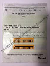 Microsoft Windows TS Terminal Server 2003 10 CALS Licenses X11-37183 X11-37184