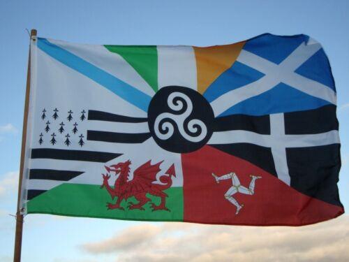 Bandera Intercéltica Países Celtas 150x90cm //// Celtic Nations Flag