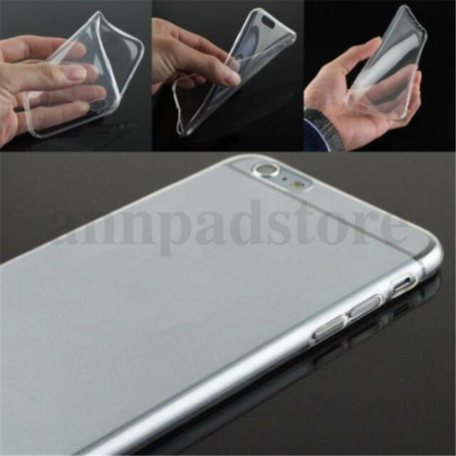 Ultra Thin Clear Transparent Soft Silicone Gel TPU Case Cover Phone Accessories