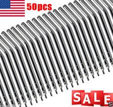 50pcs Dental Air Water Spray Syringe Metal Autoclavable Alloy Nozzles/tips USA