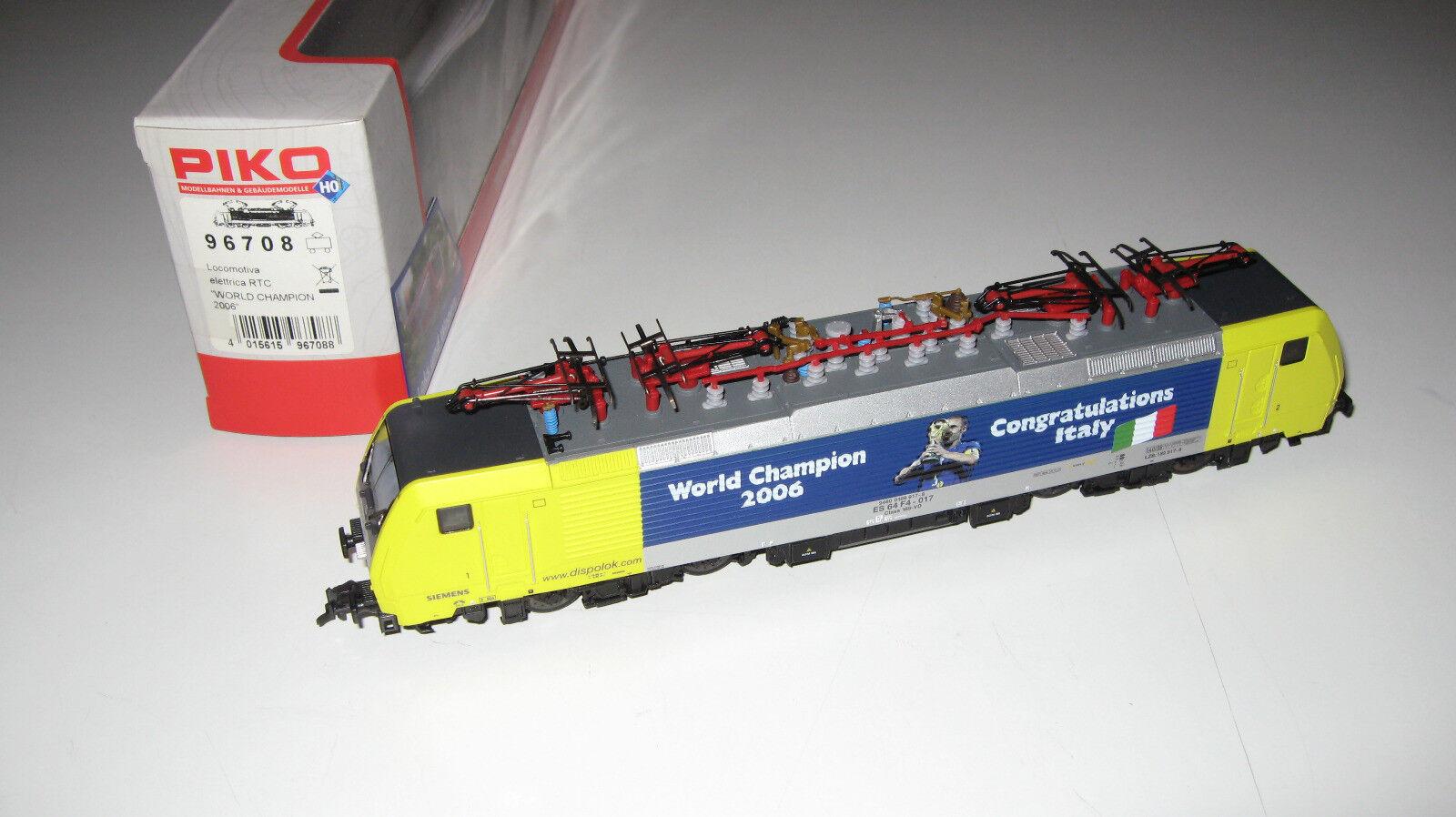 PIKO 96708 - Rail Traction Company  RTC locomotore elettrico ES 64 F4 - 017 - H0