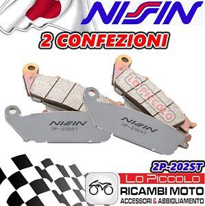 Jeu 2 Plaquette Frein Avant Droit  Polini Métal Frité Honda SW-T 600 2011-2013