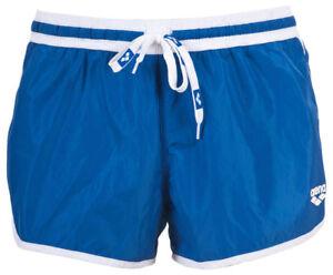 COSTUME-mare-ARENA-UOMO-TG-XXL-BOXER-FUNDAMENTALS-BORDERS-X-SHORT-azzurro-bianco