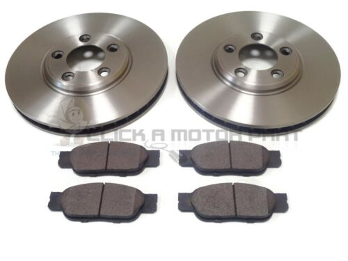 FOR JAGUAR S TYPE 2.5 V6 2.7D 3.0 SPORT FRONT 320MM VENTED BRAKE DISCS & PADS