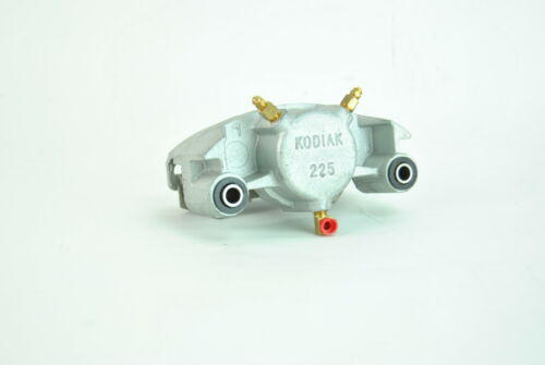 """6 Bolt Kodiak Trailer Slip On Disc Brake Set 12/"""" Dacromet Rotors and Calipers"""