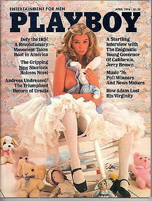 Playboy April 1976 Ursula Andres & Vargas Girl & Denise Michele