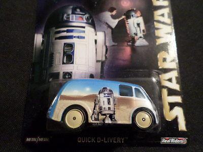 2014 HOT WHEELS STAR WARS R2-D2 HW HOTWHEELS  WHITE RARE VHTF